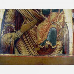 Икона «Смоленская Пресвятая Богородица». Дерево, темпера. Россия, XIX век. Размеры: 32х27 см.