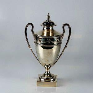 Ваза. Серебро 800; М=291,0. Англия, XIX век (стиль «ампир»). Высота: 19,5 см.