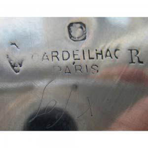 Сервиз. Серебро 950; М= 1938,0 г; дерево. Франция, Париж (мастер Кардейак). Вторая половина 19 века, стиль «неорококо».