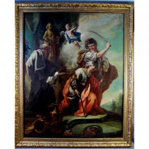 Картина. Холст, масло. Н.Х. Европа, XIX век. Размеры: 44х55 см.