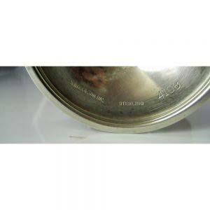 """Парные фужеры. Серебро 925 пробы (""""стерлинговая"""" проба); М (общая) = 299,0 г. Высота: 15,5 см. Великобритания; рубеж XIX-XX веков; S. Kirk&Son Inc."""