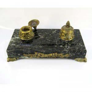 Письменный прибор «Наполеон I». Бронза, мрамор. Франция, XIX век («ампир»).