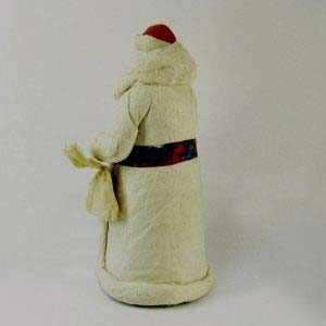 """Дед Мороз"". Бумага, вата. СССР, 50-е годы ХХ века. Высота: 48,0 см."