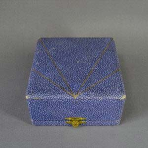 Подарочный набор под яйцо. Серебро 950 пробы; 83,0 г. Франция; XIX век.