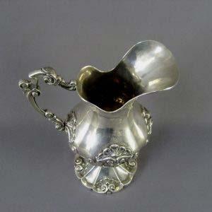 Кувшин. Серебро 900 пробы; М= 820,0 г. Португалия; XIX век.