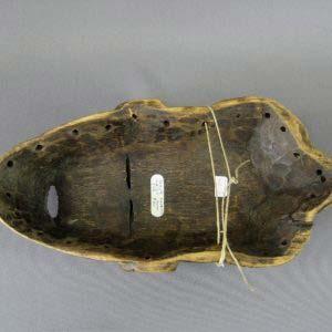 Маска. Дерево. Длина: 30,5 см. Африка; XIX век.