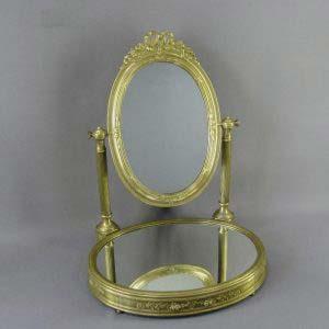 """Настольное зеркало.Оригинальное зеркальное стекло,бронза. Франция, XIX век (""""ампир"""")."""