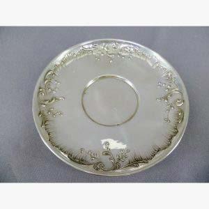 Чайная пара. Серебро 950; М= 190,0 г; золочение. Франция, XIX век.