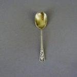 Чайная ложка. Серебро 950; М=18,0 г. Франция, XIX век. Длина: 13,0 см.