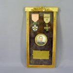 Орден Почётного Легиона и Военный Крест Французской Республики с пальмой в рамке. Франция, 1913-1918 гг.