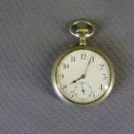 Карманные часы. Металл, Западная Европа, частная часовая мануфактура, рубеж XIX-XX веков. Диаметр: 4,5 см.