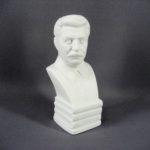 """Бюст """"И.В. Сталин"""". Автор модели: В. Боголюбов, 1937 год. Россия, Вербилки. Высота: 21,0 см."""