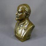 Бюст «В. И. Ленин». Бронза, патинирование. Россия. Высота: 20,0 см.